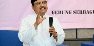 Wakil Gubernur Jatim Saifullah Yusuf/Foto Tri Wahyudi/Nusantaranews