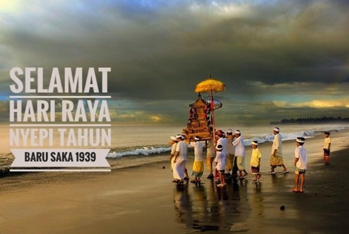 Selamat Hari Raya Nyepi/Poster: OrangRembang.com