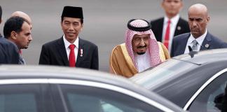 Jokowi dan raja Salman/Foto Istimewa