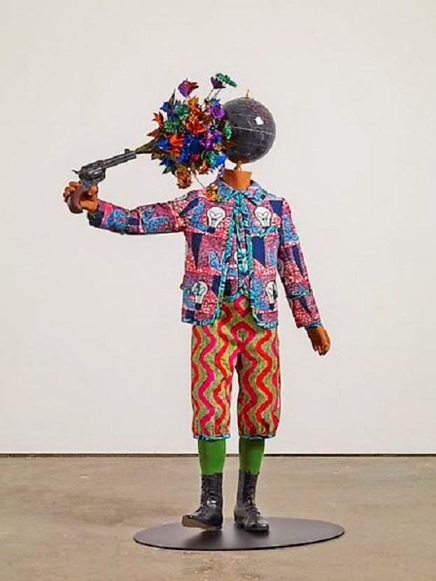 "YINKA SHONIBARE, MBE, ""Flower Power Kid (Suicide), 2013 | Foto: Ddok. jamescohan.com"