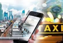 Transportasi konvensional vs online/FotoviaDewi Nurjanah/Nusantaranews