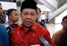 Wakil Ketua DPR RI Fahri Hamzah/Foto Andika/Nusantaranews