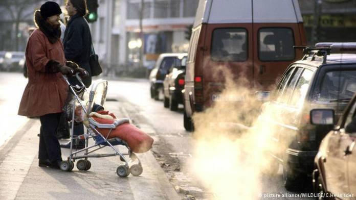 polusi udara di kota stuttgart/Foto dok. alliance/Nusantaranews