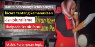 Aktivis Perempuan Jogja, Icha Sulaiman. Ilustrasi Foto: Nusantaranews