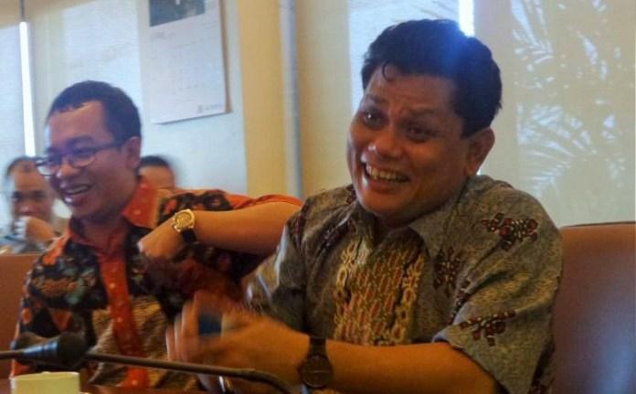 Ketua Komisi Pemberdayaan Ekonomi Umat MUI Pusat, M Azrul Tanjung saat ditemui di kantor Kompas, Jakarta, Kamis (20/4/2017). Foto: Dok. KOMPAS.com/ Ambranie Nadia