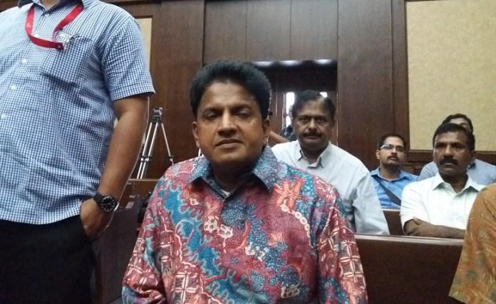 Director Country PT E.K Prima Ekspor Indonesia, Ramapanicker Rajamohanan Nair/Foto Restu Fadilah/Nusantaranews