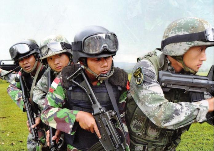 Foto Ilustrasi Militer Indonesia-China/Foto Dok Pribadi/Nusantaranews