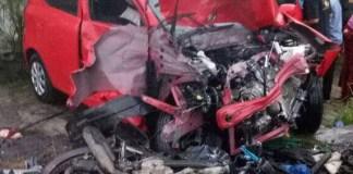 Kecelakaan beruntun. Foto TK/Istimewa/Nusantaranews