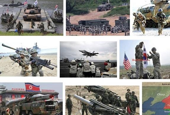Ilustrasi Latihan Militer AS-Korsel. Foto Crop: Nusantaranews