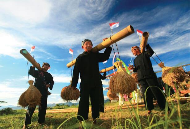 Kearifan Lokal Indonesia/Foto via kompasiana/Nusantaranews