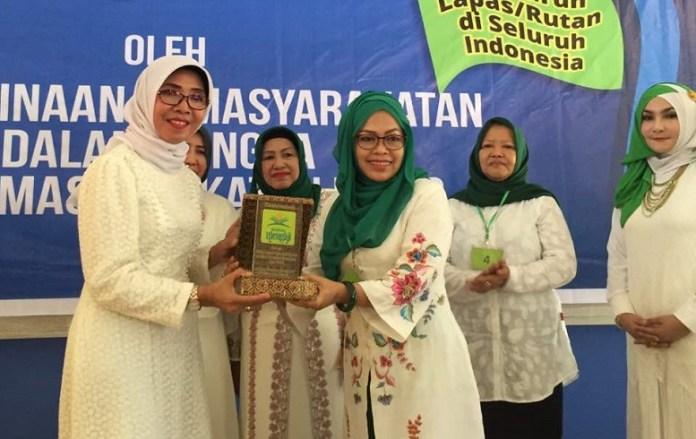 Perempuan Bangsa Jatim Gelar Kataman Quran Di Lapas/Foto Tri Wahyudi/Nusantaranews