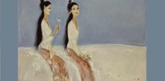 Srihadi, Doa Dalam Penantian, oil on canvas, 100 x 130 cm, Th 1999, USD 44,930 - 64,186 | Auction at Christie Hongkong