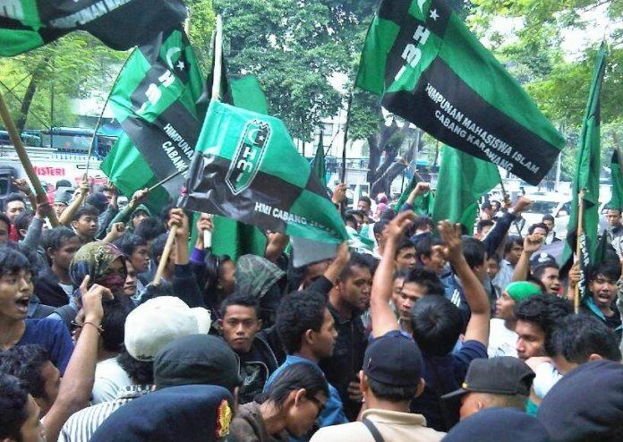 Demonstrasi HMI. Ilustrasi/Foto: Beritacita