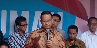 Anies-Sandi Tunjuk Sudirman Said Jadi Ketua Tim Sinkronisasi. Foto Richard Andika/ NUSANTARAnews