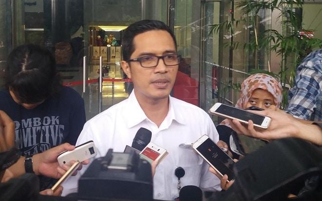 Kabiro Humas KPK; Febri Diansyah/Foto Restu Fadilah/Nusantaranews