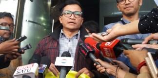 Peniliti ICW (Indonesian Corruption Watch); Tama S Langkun/Foto restu fadilah/nusantaranews