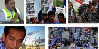 Penolakan Tarif Listrik/Ilustrasi/Nusantaranews