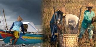 petani dan nelayan/Foto via rayapos/Nusantaranews