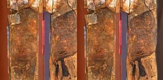 AD Pirous - Aku Ingin Dekat Dengan Mu ( QS. Ali Imron 193 ) - 195 x 150cm - Pasta Pualam. Foto: Dok. mondecor.com