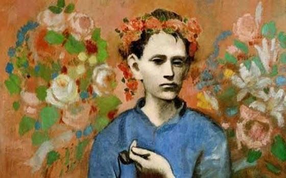 Boy with a Pipe karya Pablo Picasso. Foto: Dek. Telegraph