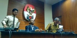 Mahfud MD di Gedung KPK, Jakarta Selatan, Rabu, (14/6/2017). Foto Restu Fadilah/ NUSANTARAnews