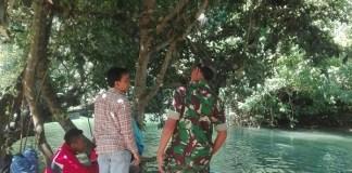 Pemantauan di area Pantai Pangi/Foto Dok. Pribadi/Nusantaranews