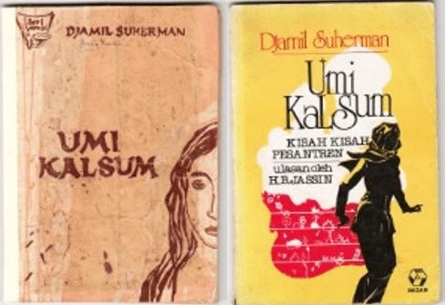 Cover Kumpulan Cerpen Umi Kulsum karya Djamil Suherman. Ilustrasi: NUSANTARAnews.co