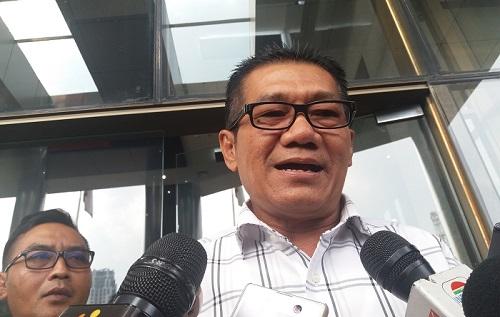 Ketua Panitia Khusus (Pansus) Hak Angket DPR terhadap Komisi Pemberantasan Korupsi (KPK) Agun Gunandjar. Foto Restu Fadilah/ NUSANTARANEWS.CO
