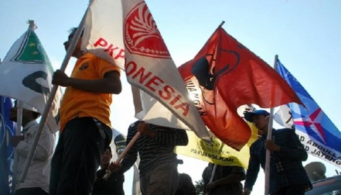 Bendera Parpol. (Ilustrasi/Foto: Doc KR)