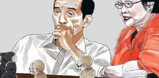 Joko Widodo & Megawati. (Foto: Sociapolitica)