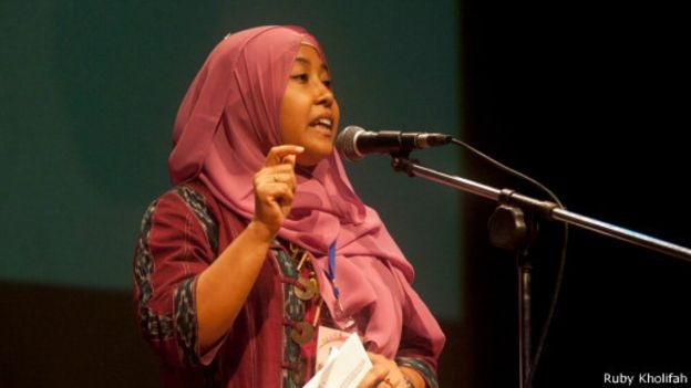 Direktur the Asian Muslim Action Network (AMAN) Ruby Khalifah. Foto: Dok. BBC.com