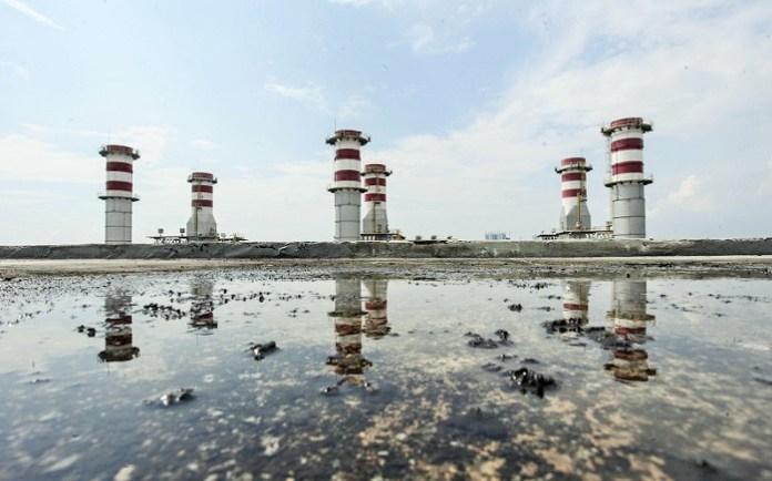 (Ilustrasi) Kondisi Pembangkit Listrik Tenaga Uap (PLTU) di Muara Karang, Jakarta (Ilustrasi). Foto: Dok. Antara/Muhammad Adimaja.