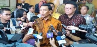Menteri Koordinator bidang Politik Hukum dan Keamanan Wiranto. (Foto: Fadilah/Nusantaranews)