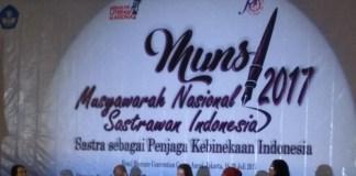 musyawarah nasional sastrawan Indonesia (Munsi) II. Foto: Dok. SERAMBINEWS.COM/FIKAR W EDA