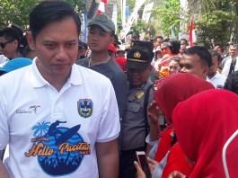 Masyarakat Jatim Inginkan AHY Maju Pilpres 2019. Foto Tri Wahyudi/ NusantaraNews.co