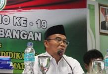 Menteri Pendidikan dan Kebudayaan Muhadjir Effendy. Foto Richard Andika/ NusantaraNews.co