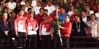Countdown to Asian Games 2018/Foto Dok. Pers Kepresidenan/Nusantaranews