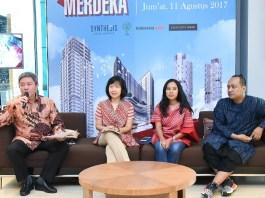 Budi Yanto Lusli, President Director Synthesis Development di Synthesis Square, Jakarta, Jumat (11/8/2017). Foto Richard Andika/ NUSANTARANEWS.Co