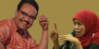 Gus Ipul dan Khofifah/Foto via globalnews/Nusantaranews