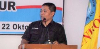 Pengamat Komunikasi Politik asal Universitas Trunojoyo Surokim. Foto Tri Wahyudi/ NusantaraNews.co