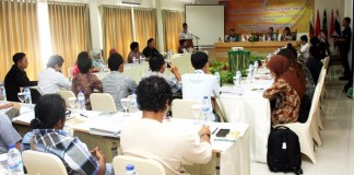 Program Penulisan Mastera: Puisi, di Hotel Adhyaksa, Cisarua, Bogor, Jawa Barat, Rabu (9/8/2017) lalu. Foto: aRifaDoy & Mario Desmute