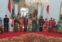Foto Bersama Priseden RI Jokowi Dodo dengan Para mantan Presiden dan Istri-istrinya. 17 Agustus 2017. Foto: Istimewa