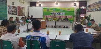 LPBI NU gelar workshop penyusunan sistem peringatan dini banjir tingkat kabupaten Kudus. Foto: Panitia/ NusantaraNews.co