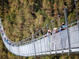 Jembatan Charles Kuonen Suspension Bridge/Foto Dok. thelocal.ch/Nusantaranews