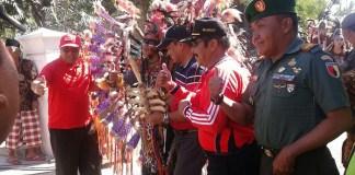 Bupati Lepas Karnaval 72 Tahun Kemerdekaan Indonesia. Foto Dim,07