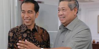 Mantan Presiden Susilo Bambang Yudhoyono dan Presiden Jokowi/Foto via via/Nusantaranews