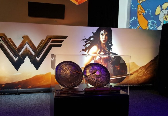 Pameran Kostum Wonder Woman/Foto comingsoon.net/Nusantaranews