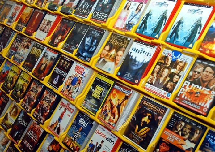 Rental DVD Film/Ilustrasi/Istimewa/Nusantaranews