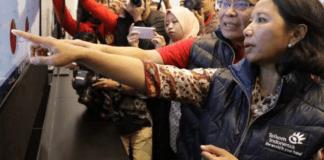 Rini Soemarno/Foto Andika/Nusantaranews
