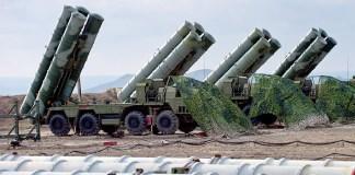 Sistem pertahanan udara terpadu Rusia atau Anti-aircraft defense system S-400 Triumph of an air defense. (Foto: Sputnik/Sergey Malgavko)Anti-aircraft defense system S-400 Triumph of an air defense